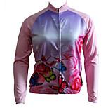 Getmoving® Women's Long Sleeve Spring/Summer/Autumn Cycling TopsBreathable/Moisture Permeability/Front Zipper/Dust