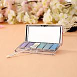 6 Eyeshadow Palette Matte / Shimmer Eyeshadow palette Powder Normal Fairy Makeup