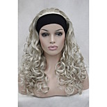 New 3/4 Wig With Headband 24