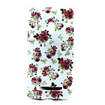 Rose Flower Pattern TPU Solf Cover for Asus Zenfone 5