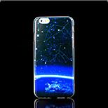 Milky Way couvrent modèle de cloud pour l'iphone 6 plus le cas