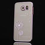 de haut grade diamant plaquage cas pissenlit de téléphone pour le bord de samsung galaxy (couleurs assorties)