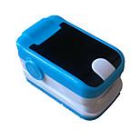 oxímetro de pulso dedo com pescoço / pulso alarme display colorido cabo