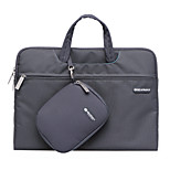 GEARMAX® Fashion Solid Canvas Waterproof Laptop Messenger Bag for MacBook Pro 15.4 with Retina