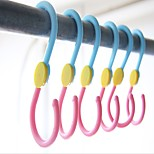 ABS Over Door Hooks Closet Storage Clothes