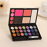30 Eyeshadow Palette Matte / Shimmer Eyeshadow palette Powder Normal Daily Makeup / Party Makeup