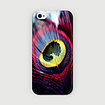 Feather Type Pattern PC phone Case Back Cover for iPhone 6 Case