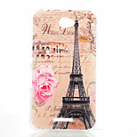 Rose Tower Pattern TPU Phone Case for Sony Xperia E4G