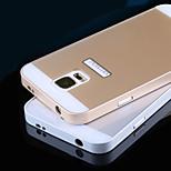 metallirunko akryyli peili taustalevy metallia kova kotelo Samsung Galaxy S5 i9600 (eri värejä)