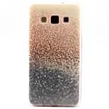 โกโก้fun®สีม่วงรูปแบบหาดทรายสีทองปูกรณีหนังสำหรับซัมซุงกาแล็คซี่ a3 / a5 / a7