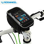 Roswheel Cycling Bike Bicycle Front Top Frame Handlebar Bag Pouch for 5.5in Cellphone 1.8L 11810-3