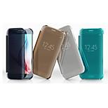 topkwaliteit minuten oppervlakte transparante harde folio full body case voor de Samsung Galaxy s6 rand (verschillende kleuren)