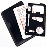 Multi-function Portable Pocket Credit Card Size Emergency Survival Tool Kit
