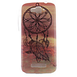 Windbell Design TPU Soft Case for Alcatel One Touch Pop C7