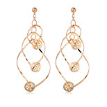 Women Style Fashion 18K Gold Plated Earrings