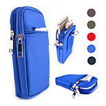 Three Zipper General Bunk Leisure Kua Package for iPhone 4/4S 5/5S 5C 6 6Plus (Assorted  Colors)