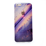 Sea Scenery Pattern TPU Material Soft Phone Case for iPhone 6