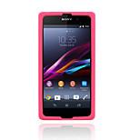 xmart® nuevo caso suave de silicona diseño para xperia sony z1 l39h caja del teléfono celular colores surtidos