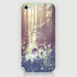The Forest Pattern Phone Case Back Cover Case for iPhone5C