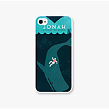 Jonah Pattern PC Phone Back Case Cover for iPhone5C