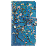 High Quality Fashion Design COCO FUN® Blue Tree Pattern PU Leather Wallet Case Cover for Nokia Lumia N630