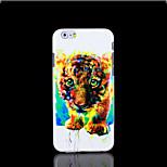 cubierta del patrón del gato para el iphone 6 más caso