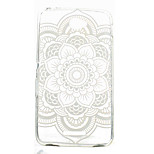 Round Printing Pattern TPU Material Soft Phone Case for Sony Xperia E4