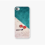 Pomegranate Spoon Pattern PC Phone Back Case Cover for iPhone5C
