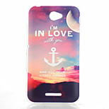 Evening Anchor Pattern TPU Phone Case for Sony E4