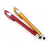 kinston® 2 x 2in1 kapasitiv berøringsskjerm stylus kulepenn med kulepenn for iphone / ipod / ipad / samsung og andre