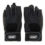 Y22201 Fashion Practical Fitness Half-finger Riding Gloves - Black (Size M L XL)