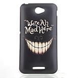 Black Teeth Pattern TPU Phone Case for Sony Xperia E4G