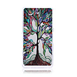 Colorful Tree of Life Pattern TPU Soft Back Cover Case for Sony Z3 Mini