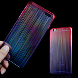 Three Seven Colored Streamer Acrylic Backplane TPU Frame Combo Phone Case for iPhone 6 (Assorted Colors)