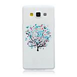 ευτυχισμένος μοτίβο δέντρο υλικό TPU μαλακό τηλέφωνο υπόθεση για Samsung Galaxy α5