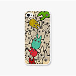 The Rabbit Pattern PC Phone Back Case Cover for iPhone5C