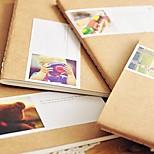 Cute Retro Brown Paper Style Notebook(Random Color)