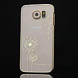 korkea-asteen timantti pinnoitus voikukka puhelimen suojakotelo Samsung Galaxy s6 (eri värejä)