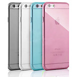 High Quality TPU Soft Case for iPhone 6 Plus(Assorted Color)