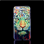Tiger Pattern Cover for iPhone 6 Plus Case