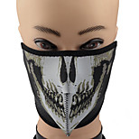 ZIQIAO Skull Head Pattern Outdoor Face Mask Shield Guard for Cycling / Mountaineering