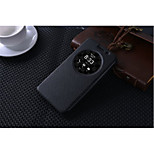Top Quality Ultra-Thin Circle Window Flip Leather Case Cover For ASUS5.5