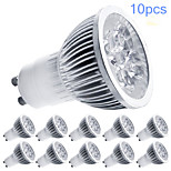 10pcs MORSEN® GU10 5W 350-400LM Support Dimmable Light LED Spot Bulb