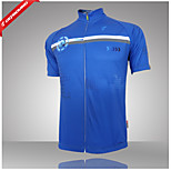 GETMOVING® 100% Polyester Fiber Short Sleeve Breathable+Quick-Drying Men Cycling Jersey