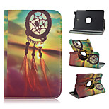 8 Inch 360 Degree Rotation Decoration Pattern Stand Case for Samsung Galaxy Tab A 8.0 SM-T350/ T351