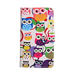 Magic Spider® Owl PU Full Body Case Stand with Screen Protector for Samsung Galaxy A7