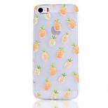 ananas frutta modello cassa del telefono TPU trasparente per iPhone 5 / 5s