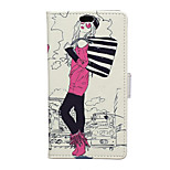 Fashion Girl Pattern Full Body Case for Asus Zenfone 2(5.5)