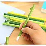 5PCS Creative Bamboo Style Gel Pens Random Colors