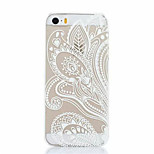 Long Flower  Pattern Plastic Hard Back Cover For iPhone5/5S